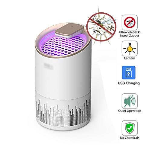 MXRa Zanzara lampada, ultra-silenzioso portatile Insect estintore lampada, Intelligent Light Control-perfetto for le attività indoor e outdoor, campeggio, Evento, decorazione domestica (USB Power Supp