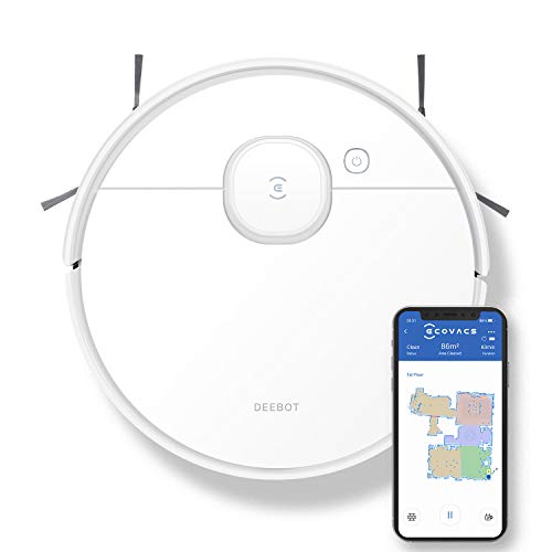 ECOVACS DEEBOT N7 Robot Vacuum Cleaner and Mop,...