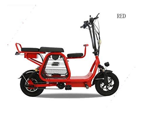 BX.JX Mini-elektrische scooter, inklapbaar, 12 voeten, 400 W motor, led-koplampen, max. 20 MPH, 25 mijl bereik, max. 250 vellen.