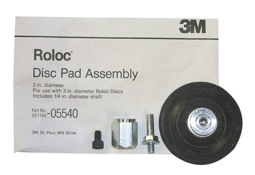 3M Roloc Disc Pad Assembly, 05540, 3 in