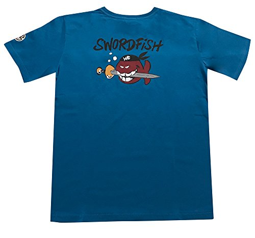 IQ Swordfish 1 - Maglietta a Maniche Corte, Edizione Limitata, Pietra, XL