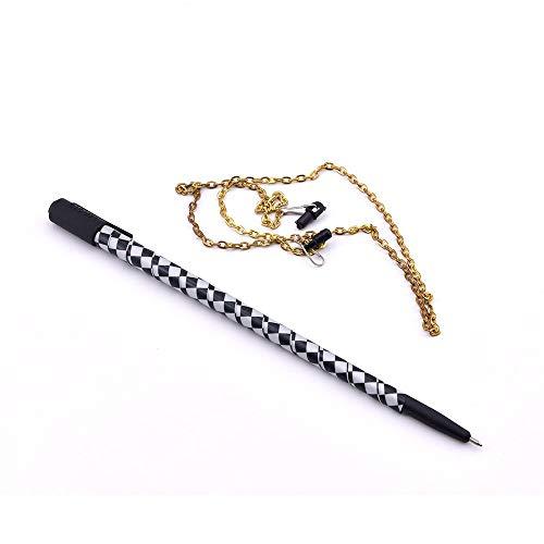 Enjoyer Pen to Necklace Chain Vanishing Pen Magic Tricks Close Up Magic Gimmick Stage Illusions Magician Props,2Pcs/Lot