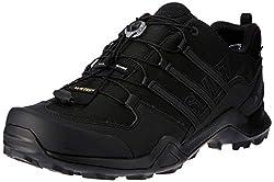 adidas Men's Terrex Swift R2 GTX Trekking & Hiking Loafers, Black (Negbas 000), 46 2/3 EU