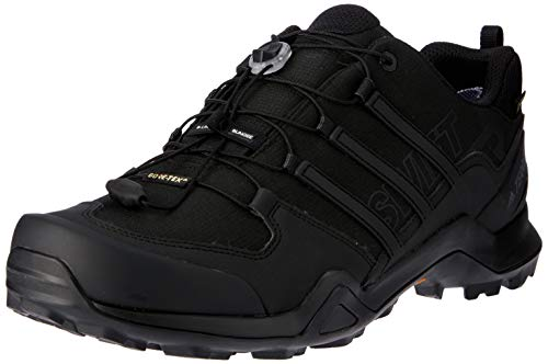 adidas TERREX SWIFT R2 GTX, Men's Track and Field Shoe, CBLACK/CBLACK/CBLACK, 10 UK (44 2/3 EU)