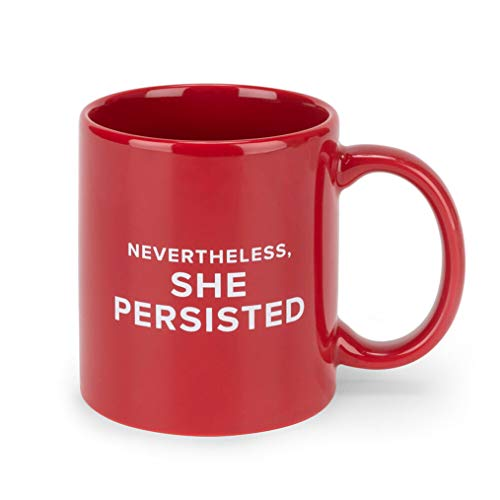 FCTRY Notorious Ruth Bader Ginsberg, Collectible Mugs for Home, Office & Outdoor Use, Microwave & Dishwasher Safe (She Persisted)