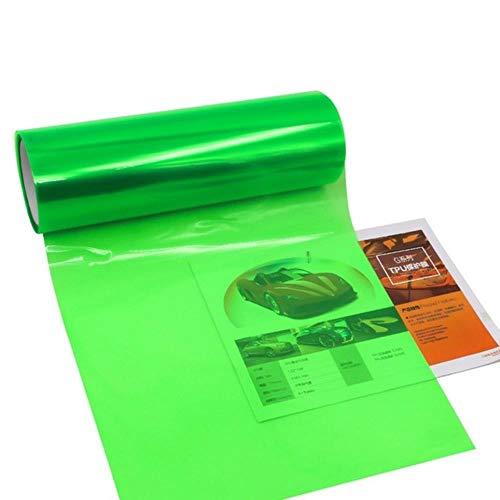 30 * 100 cm Voor Auto Koplamp Achterlicht Tint Sticker venster verven voor auto Mistlamp Achterlicht Viny Stickers, Groen, Verenigde Staten