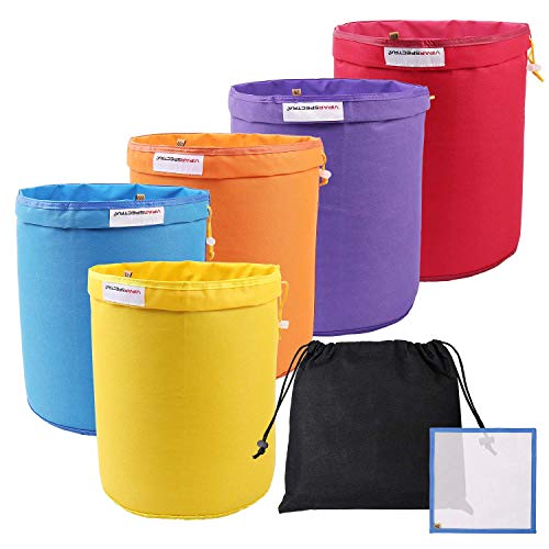 VIPARSPECTRA Bubble Bags 5 Gallon 5 Bag Set Herbal Ice