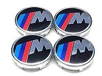 (LYQ ONG) BMW ///M ホイールセンターキャップ ハブキャップ ホイールカバー センターキャップ バッジ エンブレムステッカー 60mm 4個セット