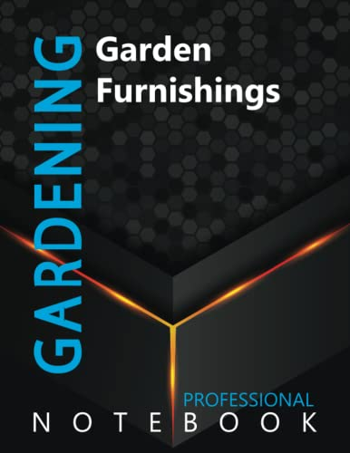 """Compare Textbook Prices for Gardening, Garden Furnishings Ruled Notebook, Professional Notebook, Writing Journal, Daily Notes, Large 8.5"""" x 11"""" size, 108 pages, Glossy cover  ISBN 9798499581452 by Pro Garden  Cre8tive Press"""