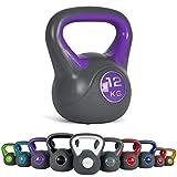 Kettlebell 2 - 20 kg con póster de ejercicios; mancuernas con bola, Pesas
