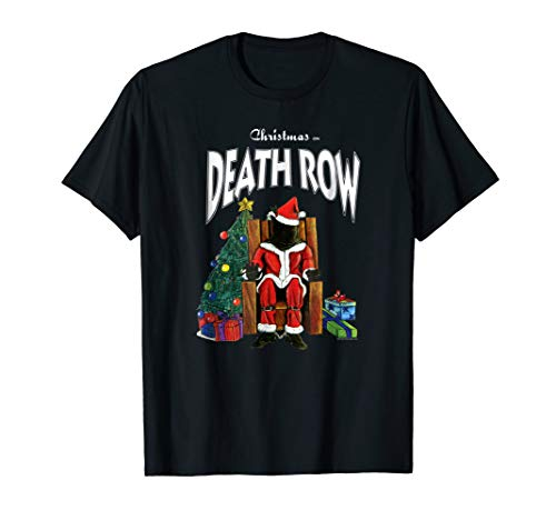Death Row Records Christmas on Death Row T-shirt