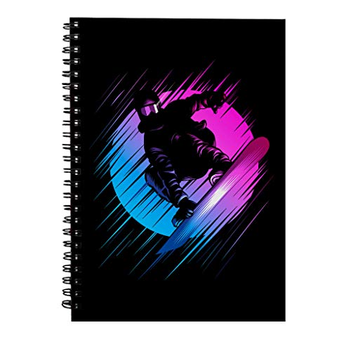 Rising Snowboard Spiraal Notebook