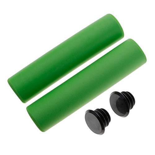 SJLA Bicycle Accessories Bicycle Handlebar Gear Grip MTB Bike BMX High Density Ultralight Handle bar Anti-Skid Bike Parts (Color : Green)