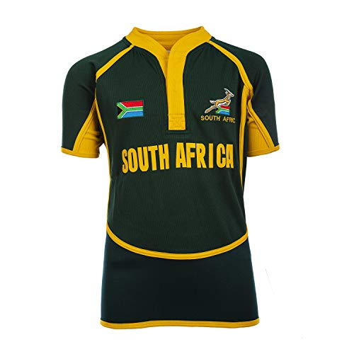 Rugby Nations Kinder Rugby-Trikots Gr. 1-2 Jahre, Südafrika