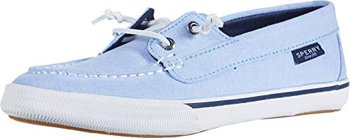 Sperry Lounge Away Chambray Blue 7 M (B)