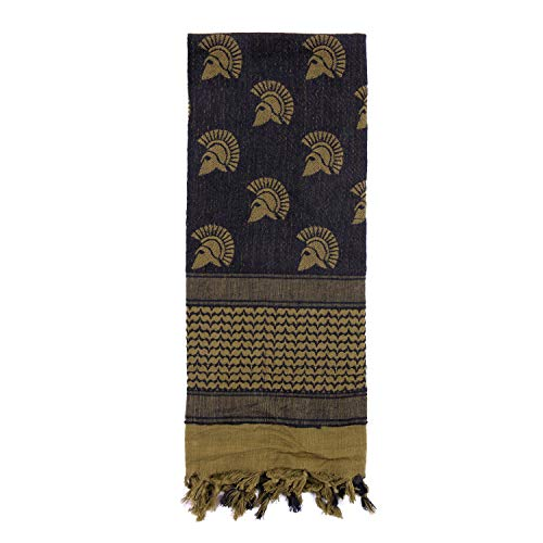 Rothco Spartan Shemagh Tactical Desert Keffiyeh Scarf, Olive Drab