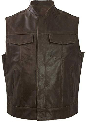 Leatherbox -  Gilet  - Uomo marrone marrone