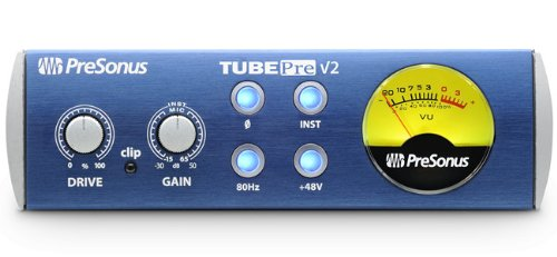 PreSonus Tubepre - Preamplificador de Tubo (con Entrada para micrófono, Canal único)