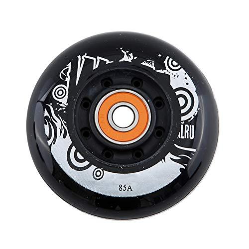 SSCYHT Inline Skate Ersatz Rollen mit Lagern, 8 Packs Kit, 72 mm, 76 mm, 80 mm,72mm