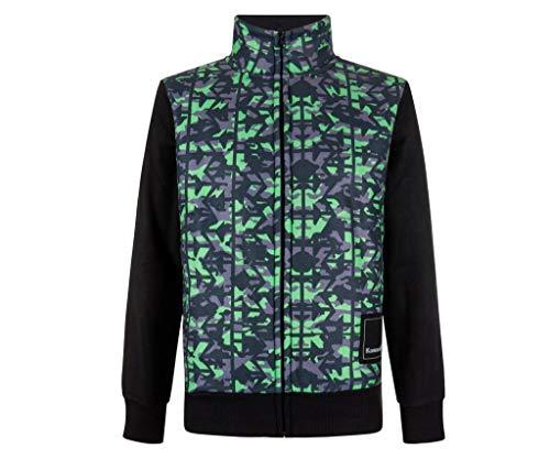 Kawasaki Sweatshirt Jacke CAMO Fleece (L)