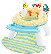 Skip Hop Explore & More Baby Chair: 2-in-1 Sit-Up Floor Seat & Infant Activity Seat, Multi