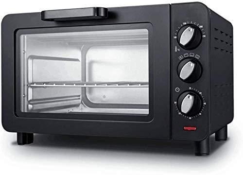 Mini cocina de horno y la parrilla, mini-horno eléctrico negro con un...