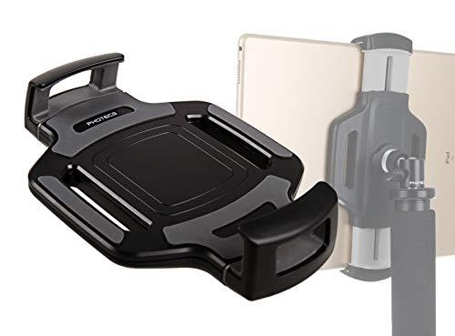 """Photecs® Tablet-Stativ-Adapter Typ4 mit 1/4\"""" Zoll Gewinde, Universal Halterung Halter f. Tablet-PC 6\"""" bis 14 Zoll (ideal für iPad Pro 12.9), auch für Geräte mit Schutzgehäuse geeignet (TH-06)"""