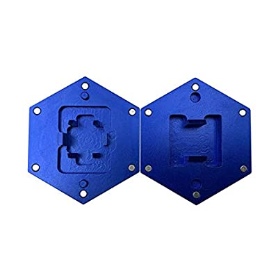Geeksocial Aluminum Switch Opener for Kail Gateron Cherry MX Switches Mechanical Keyboard Custom Shaft Opening Tool with Metal Magnet (Blue)