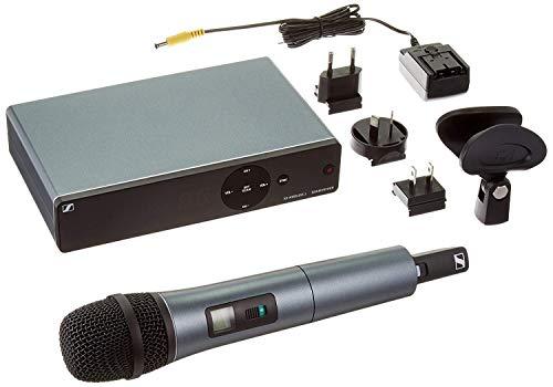 Sennheiser - Micrófono profesional inalámbrico para directa, canto y presentaciones - Modelo n. XSW 1-835