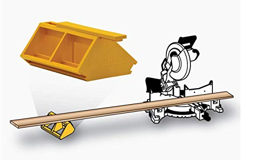 Miter Block, Support Stand, Universal Fit, Light Weight, Portable, Support Any Material, Any Length, Any Surface