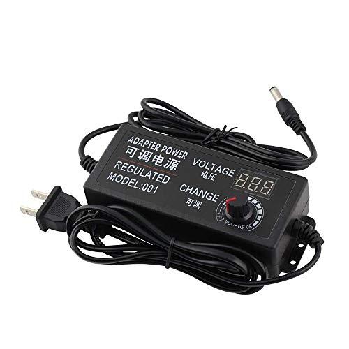 Yetaida Universal Adjustable AC/DC Switching Power Adapter