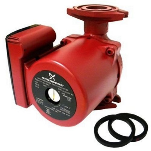 Grundfos 59896155, UP15-42F, SuperBrute Recirculating Pump 1/25 HP,115 -Volt, SMALL RED