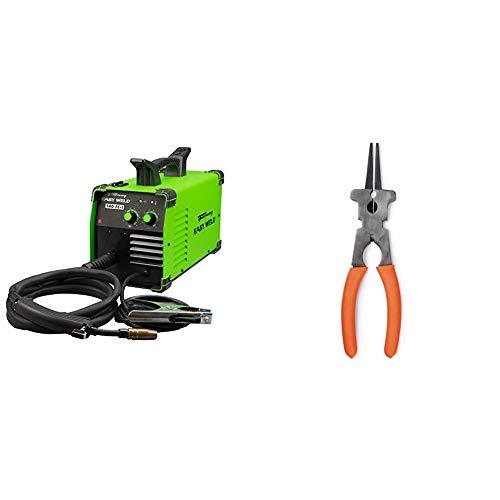 Forney Easy Weld 261, 140 FC-i MIG Welder, 120V, Green & Hobart 770150 MIG Multi-Function Welding Pliers