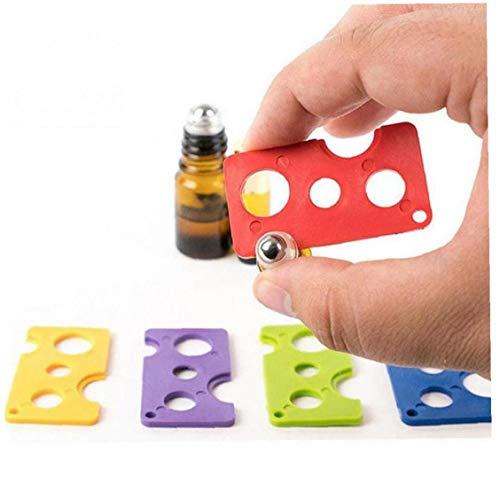 PiniceCore 1 st etherische olie flesopener sleutel verwijdert & vervangt Roller ballen op flessen voor 1 ml 2ml 5ml 10ml…