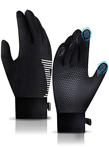 FaAmour Winter Gloves Touchscreen Gloves for Cold Weather, Men Women Gloves for Cycling Running Working Driving Hiking Fishing, Warm Thermal Soft Lining Elastic Cuff Anti-Slip