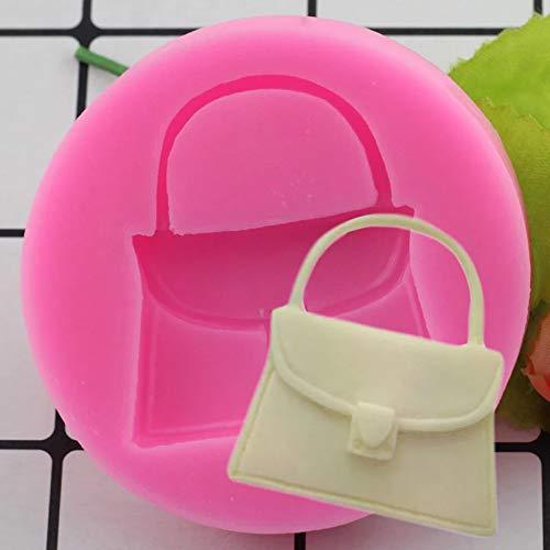 WQSD Mädchen Geldbörse Handtasche Tasche Geldbörse Silikon Fudge Duftende 3D Kuchenform Kuchen Jelly Candy Schokoladendekoration Backwerkzeug