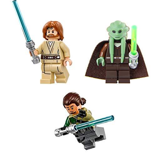 LEGO Accesorios: Star Wars Jedi Lote 4 – OBI WAN Kanan Jarus Kit Fisto