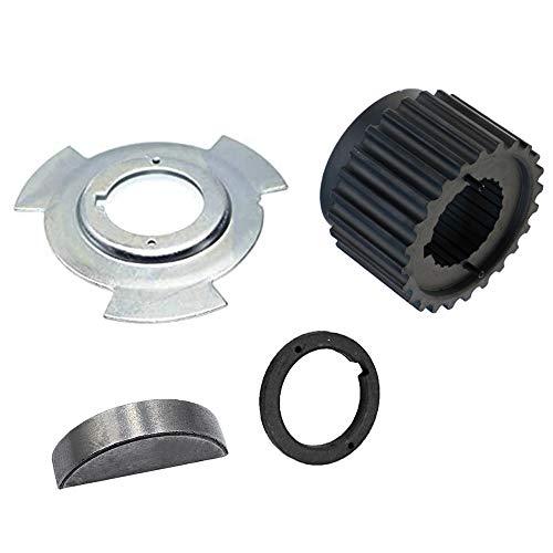 Syuda Timing Belt Crankshaft Sprocket Gear Pulley Sensor Blade Plate & Spacer Kit for Mitsubishi Montero Sport Galant Eclipse Diamante 3.0L 3.5L V6 MD184894 MD184901 MD309036 MD008959
