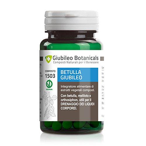Integratore con BETULLA, MELILOTO E ORTHOSIPHON utili a favorire il drenaggio dei liquidi corporei - 25 giorni di trattamento