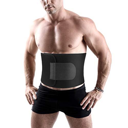 HostStyleZ Waist Trimmer Trainer for Women Men,Stomach Slimmer, Adjustable Stomach Belly Fat Burner Wrap Sauna Slim Belt, Low Back and Lumbar Support,Best Abdominal Trainer