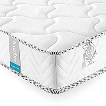 Full Mattress 8 Inch Inofia Memory Foam Full Bed Mattress in a Box CertiPUR-US Certified Sleep Cooler Pressure Relief Comfy Body Support No-Risk 100 Night Trial 10 Year Support