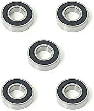 5x 6905 2RS Rubber Sealed Deep Groove Ball Bearings - 25x42x9 mm