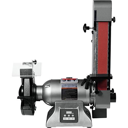 JET 577248 IBGB-248VS 8 in. Variable Speed Industrial Grinder and 2 x 48 in. Belt Sander