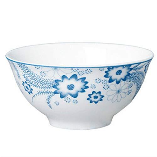 Keramik Schüssel Glasur In Farbe Blau Und Weiß Porzellan Schüssel Haushalt Porzellan Geschirr Haushalt Reis Schüssel Suppe Schüssel Obst Salatschüssel