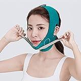 V Facial Slimming Verband Relaxation Heben Sie den Gürtelform Hub aufheben Doppelkinn Gesicht Blende Bandmassage Straffung von Gürtel Naturaanti-Aging Green (Farbe : Green)