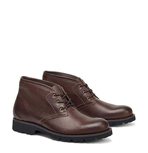 Trask Men's Garrett Shoe Dark Brown American Bison 11.5 M US