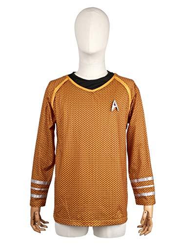 CoolChange Uniform Oberteil der Sternenflotte von Captain James T. Kirk | Größen: S - M
