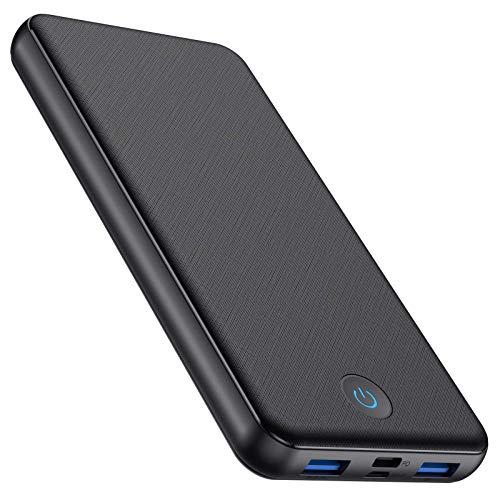 AOPAWA Power Bank 26800mAh Carga Súper Rápida Batería Externa Móvil [18W PD/USB Type-C] con Indicador LED de Colores Batería Portátil QC3.0 con 2 Entradas y 3 Salidas para iPhone, Android, Tablet, etc