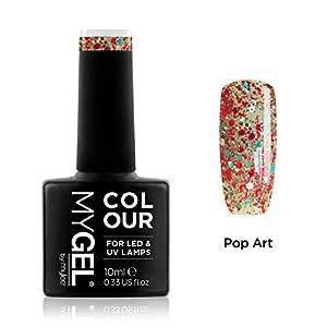 Esmalte de gel para uñas MyGel, de MYLEE (10ml) MG0097 - Pop Art UV/LED Nail Art Manicure Pedicure para uso profesional en el salón y en el hogar - Larga duración y fácil de aplicar