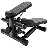 HYJBGGH Máquinas de Step Stepper Fitness Entrenador De Ejercicios Pedal De Estufa Mini Ejercitador Paso Máquina De Escalada para Gimnasio En Casa Cardio Yoga (Color : Black)